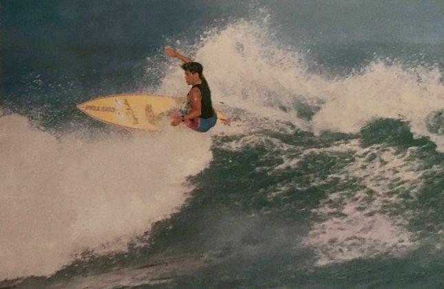 Fabio Gouveia, Porto Rico, 1988. Foto: Beto Issa.