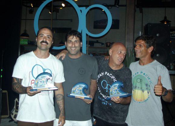 Fábio Luiz, Roberto Ruiz, Ricardo Piazza e João Africano, OP Concept Store, Lagoa da Conceição, Florianópolis (SC). Foto: Basílio Ruy.