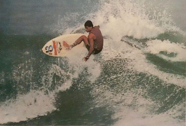 Fernando Graça, Vice-campeão da categoria Júnior no Mundial de Porto Rico, 1988. Foto: Agobar Júnior.