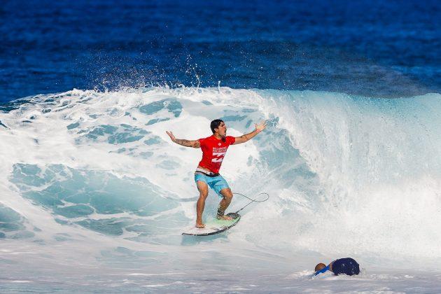 Gabriel Medina, Billabong Pipe Masters 2017, North Shore de Oahu, Havaí. Foto: WSL / Heff.