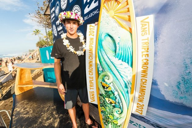 Griffin Colapinto, Billabong Pipe Masters 2017, North Shore de Oahu, Havaí. Foto: WSL / Cestari.