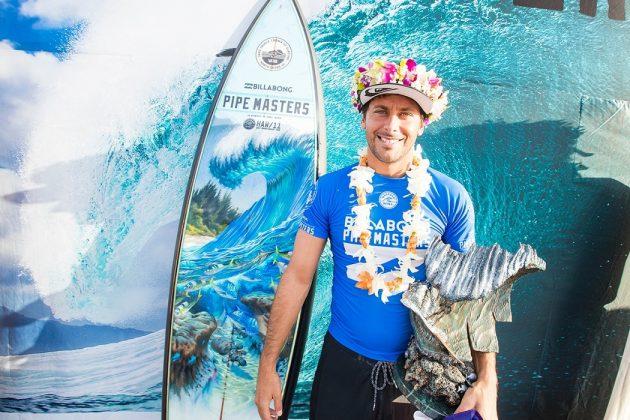 Jeremy Flores, Billabong Pipe Masters 2017, North Shore de Oahu, Havaí. Foto: WSL / Cestari.