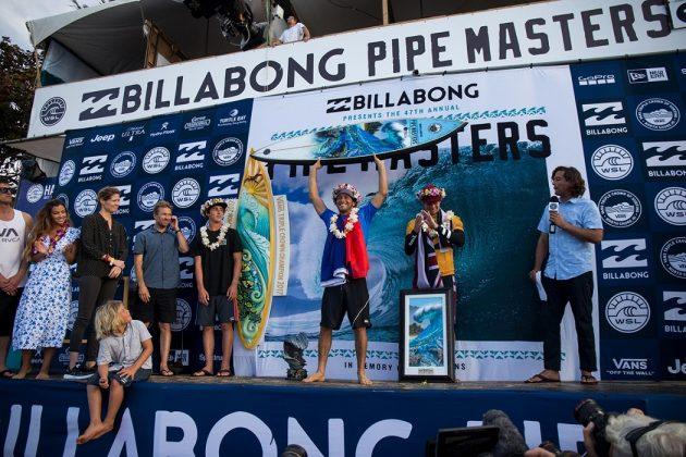 Jeremy Flores, Billabong Pipe Masters 2017, North Shore de Oahu, Havaí. Foto: WSL / Heff.