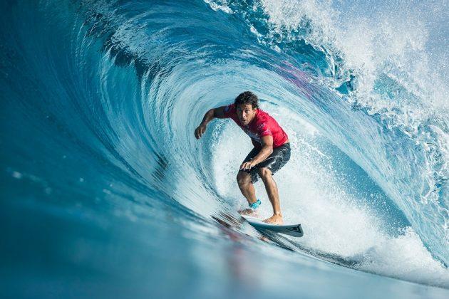 Jeremy Flores, Billabong Pipe Masters 2017, North Shore de Oahu, Havaí. Foto: WSL / Poullenot.