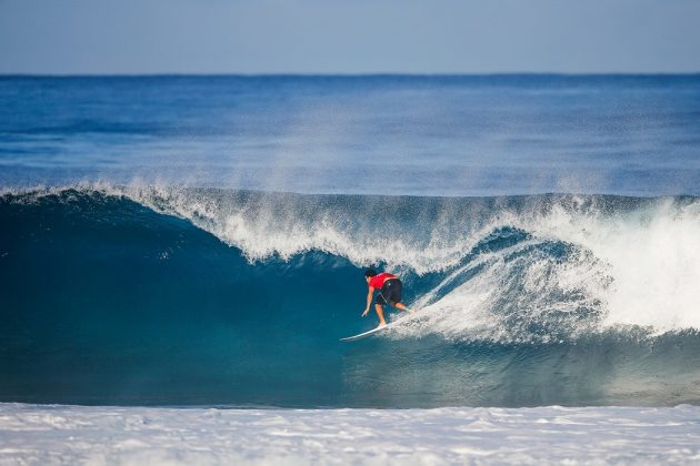 Jeremy Flores, Billabong Pipe Masters 2017, North Shore de Oahu, Havaí. Foto: WSL / Heff.