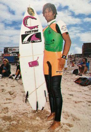 Joca Júnior foi a esperança do Brasil no Mundial de 90. Foto: Beto Issa.