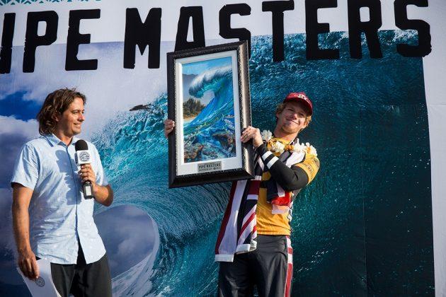 John John Florence, Billabong Pipe Masters 2017, North Shore de Oahu, Havaí. Foto: WSL / Cestari.