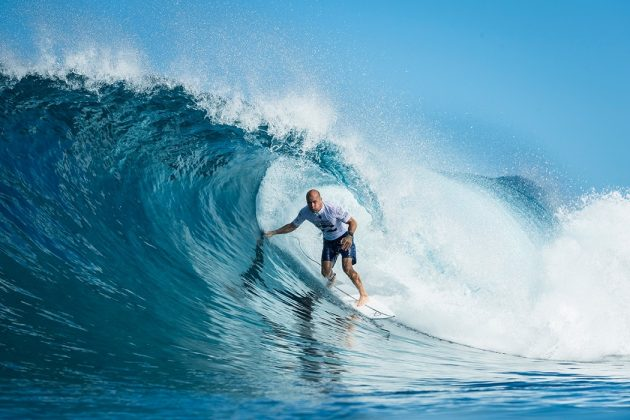 Kelly Slater, Billabong Pipe Masters 2017, North Shore de Oahu, Havaí. Foto: WSL / Poullenot.