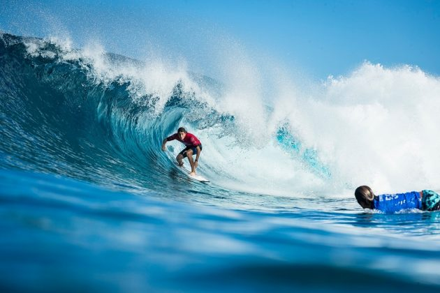 Leonardo Fioravanti, Billabong Pipe Masters 2017, North Shore de Oahu, Havaí. Foto: WSL / Poullenot.