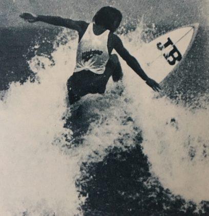 Pepê Lopes, Waimea 5000, Arpoador (RJ), 1976. Foto: Fedoca Lima.