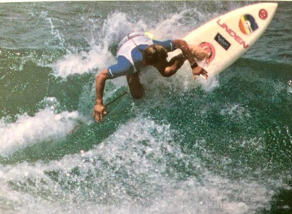 Roberto Valério, Beaurepaires, Cronulla, Austrália, 1986. Foto: Bruno_Alves.