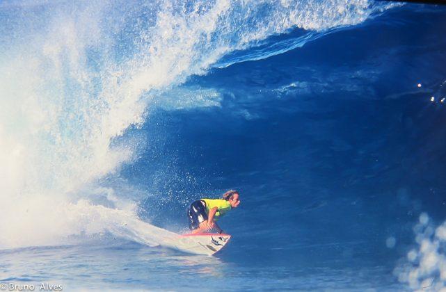 Teco Padaratz, Pipe Masters, Havaí, 1991. Foto: Bruno_Alves.