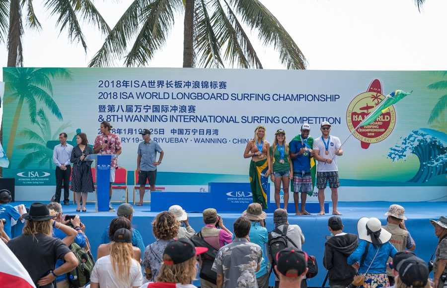 ISA World Longboard Championship 2018, Hainan, China. Foto: ISA / Evans.