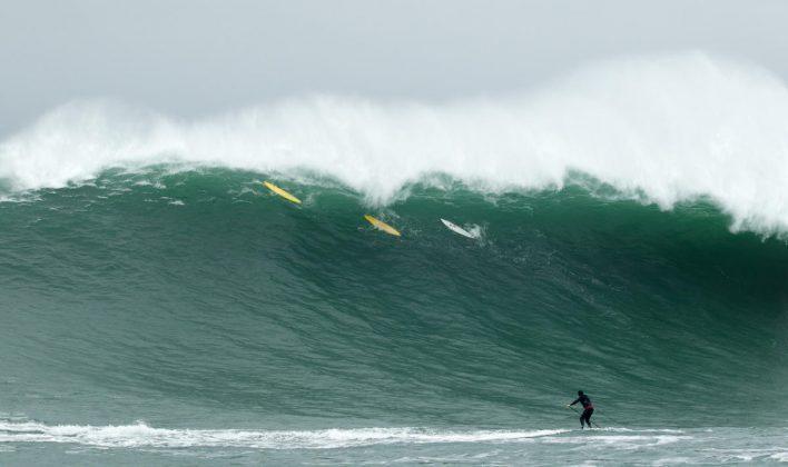 Mavericks, Califórnia (EUA). Foto: WSL / Pedro Bala.