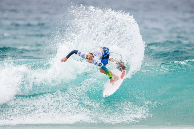 Cody Young, Mundial Pro Junior 2017, Kiama, Austrália. Foto: WSL / Dunbar.