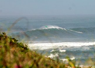 Swell encosta no Sul
