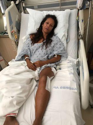 Marjorie Mariano, Queens Hospital, Honolulu, Havaí. Foto: Arquivo pessoal
