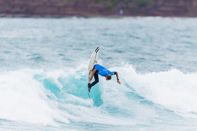 Jake Elkington, Mundial Pro Junior 2017, Kiama, Austrália. Foto: WSL / Dunbar.