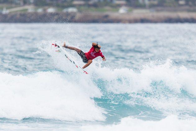 Samuel Pupo, Mundial Pro Junior 2017, Kiama, Austrália. Foto: WSL / Dunbar.