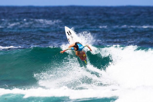 Shino Matsuda, Mundial Pro Junior 2017, Kiama, Austrália. Foto: WSL / Dunbar.
