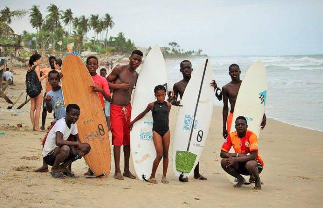 Kokrobite, Gana. Foto: Ahanta Surf School