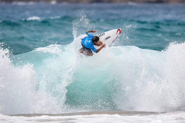 Yuji Nishi, Mundial Pro Junior 2017, Kiama, Austrália. Foto: WSL / Dunbar.