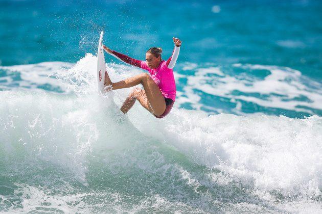 Zoe McDougall. Mundial Pro Junior 2017, Kiama, Austrália. Foto: WSL / Dunbar