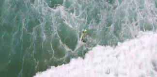 Drone auxilia resgate