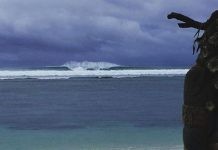 Serangan Beach, Bali, Indonesia