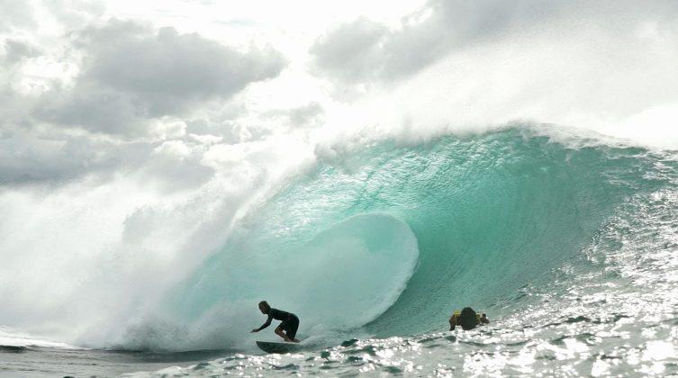 Gavin Beschen, Pipeline, North Shore de Oahu, Havaí. Foto: Bruno Lemos / Sony Brasil.