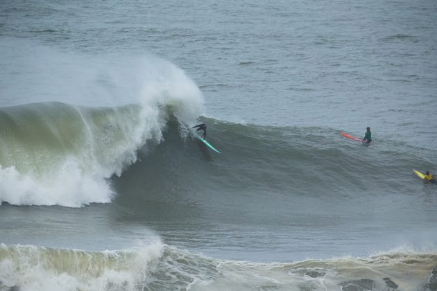 Ian Walsh, Nazaré Challenge 2018, Praia do Norte, Portugal. Foto: WSL / Masurel.