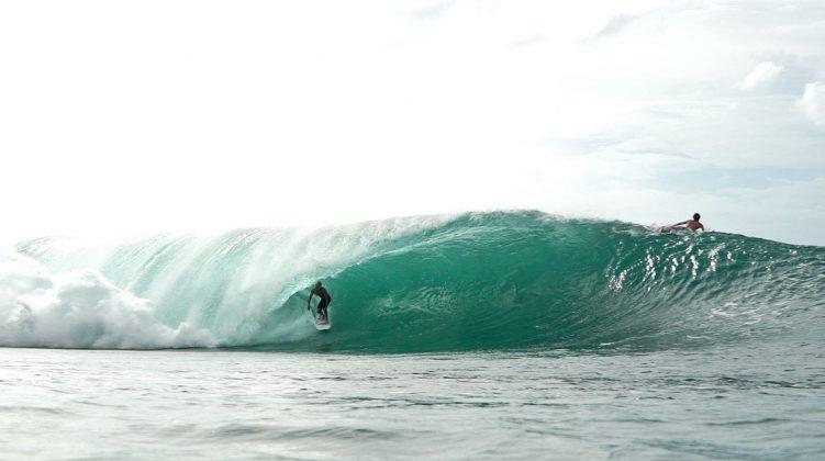 Kiron Jabour, Pipeline, North Shore de Oahu, Havaí. Foto: Bruno Lemos / Sony Brasil.