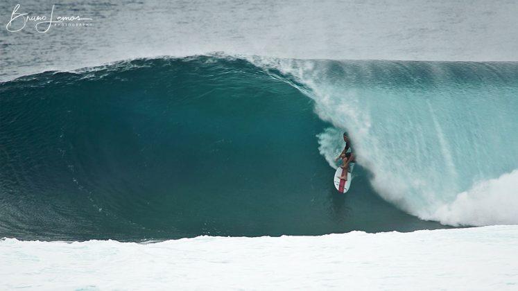 Nathan Florence, Backdoor, North Shore de Oahu, Havaí. Foto: Bruno Lemos / Sony Brasil.