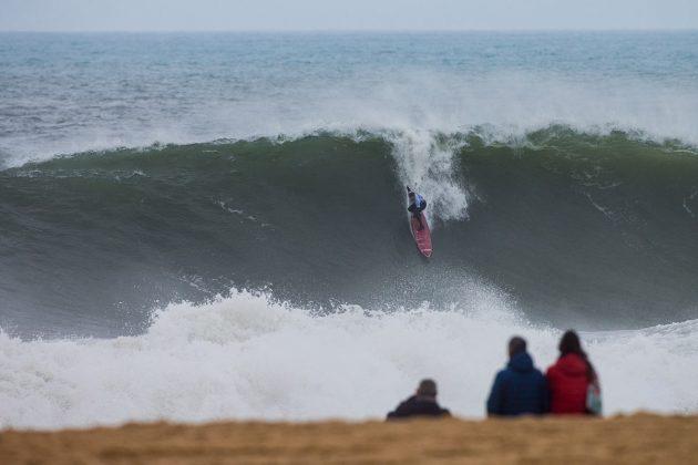 Nathan Florence. Nazaré Challenge 2018, Praia do Norte, Portugal. Foto: WSL / Masurel