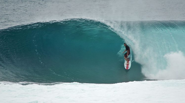 Nathan Florence. Backdoor, North Shore de Oahu, Havaí. Foto: Bruno Lemos / Sony Brasil