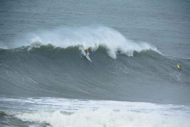 Natxo Gonzalez. Nazaré Challenge 2018, Praia do Norte, Portugal. Foto: WSL / Masurel