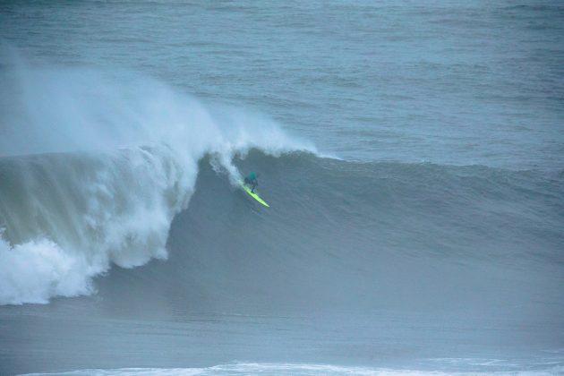 Nic Von Rupp. Nazaré Challenge 2018, Praia do Norte, Portugal. Foto: WSL / Masurel