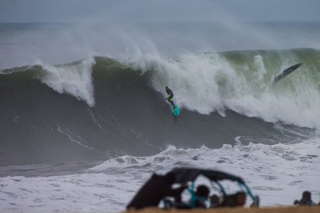 Peter Mel, Nazaré Challenge 2018, Praia do Norte, Portugal. Foto: WSL / Masurel.