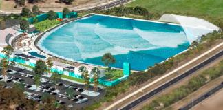 Melbourne recebe piscina