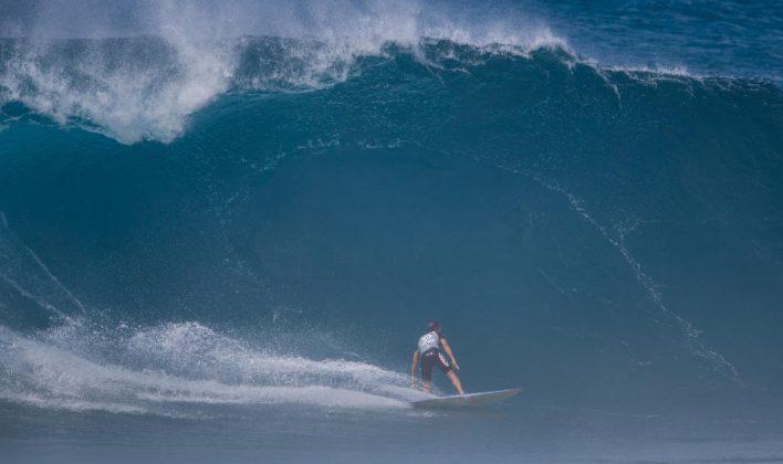 Derek Ho, Volcom Pipe Pro 2018, Pipeline, North Shore de Oahu, Havaí. Foto: WSL / Heff.
