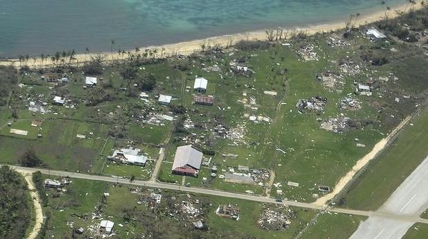 Passagem do ciclone Gita causa estragos no arquipélago de Tonga.