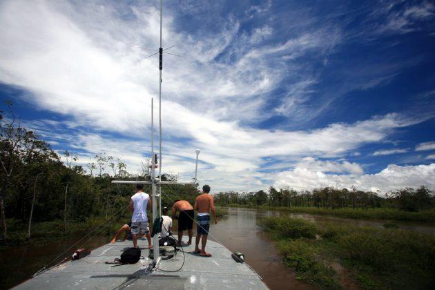 A caminho do Araguari, por entre braços de rios e cenário incríveis, Pororoca do Rio Araguari (AP). Foto: Bruno_Alves.
