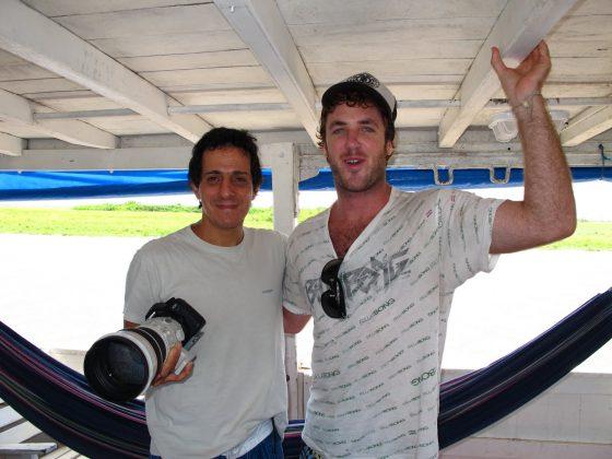 Alberto Alves e Skeet Dehman, Pororoca do Rio Araguari (AP). Foto: Serginho Laus.