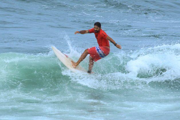 Alex Miranda, Fico Surf Festival 2018, praia do Tombo, Guarujá (SP). Foto: Silvia Winik.
