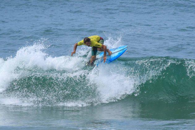 Alvaro Bacana, Fico Surf Festival 2018, praia do Tombo, Guarujá (SP). Foto: Silvia Winik.