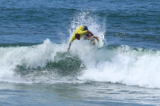 Amaro Matos, Fico Surf Festival 2018, praia do Tombo, Guarujá (SP). Foto: Silvia Winik.