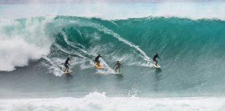 Novo swell na área