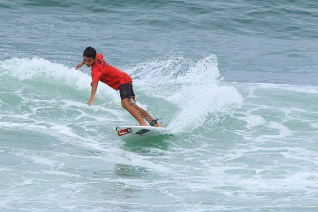 Davi Glazer, Fico Surf Festival 2018, praia do Tombo, Guarujá (SP). Foto: Silvia Winik.