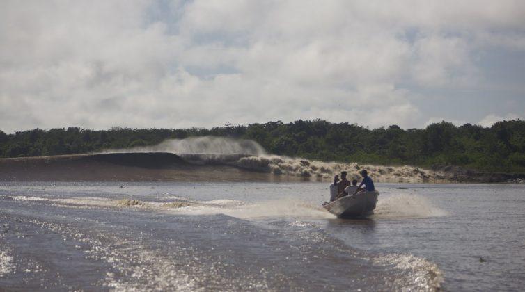 E em outros começava a jogar o lip com mais força!, Pororoca do Rio Araguari (AP). Foto: Bruno_Alves.