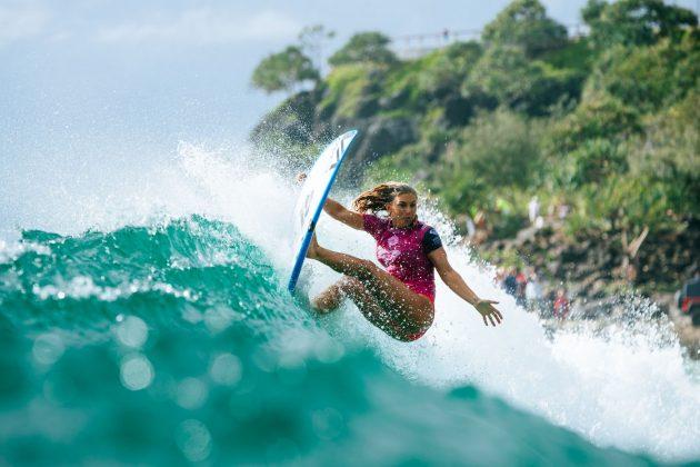 Sage Erickson, Roxy Pro 2018, Gold Coast, Austrália. Foto: WSL / Sloane.